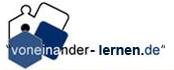Logo Voneinander-lernen